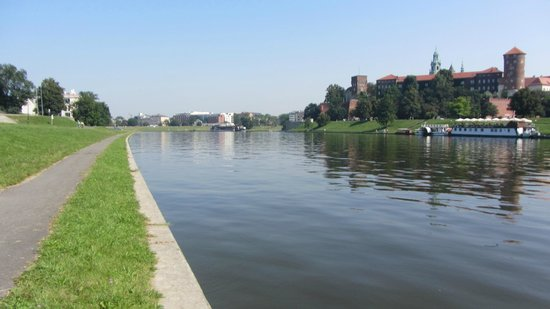The Vistula River at Warsaw Poland - Picture of The Vistula ...