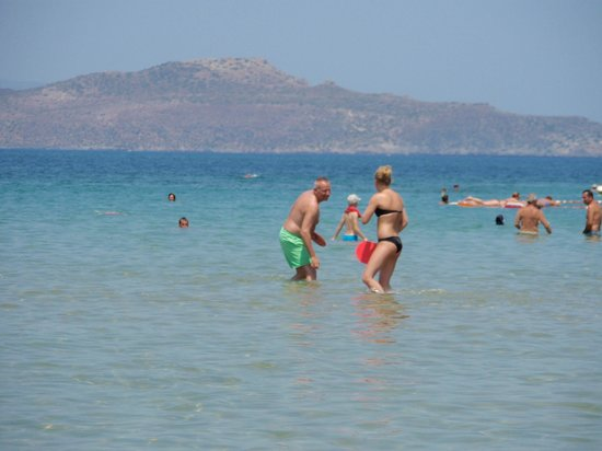 Cretan Dream Hotel: Stranden.