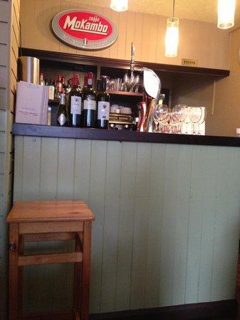 Bel Cibo: bar area