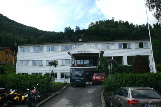 Heimly Pensjonat: La facciata dell'hotel