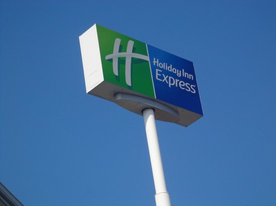 Holiday Inn Express White House: Sign