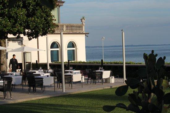 Bellariva Hotel: Terrassenrestaurant