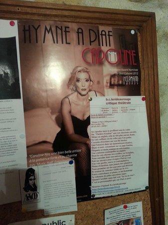 Essaion Theatre : Caroline Nin
