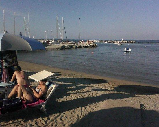 Riva foto di spiaggia bagno egisto 38 viserba tripadvisor - Bagno 38 rimini ...