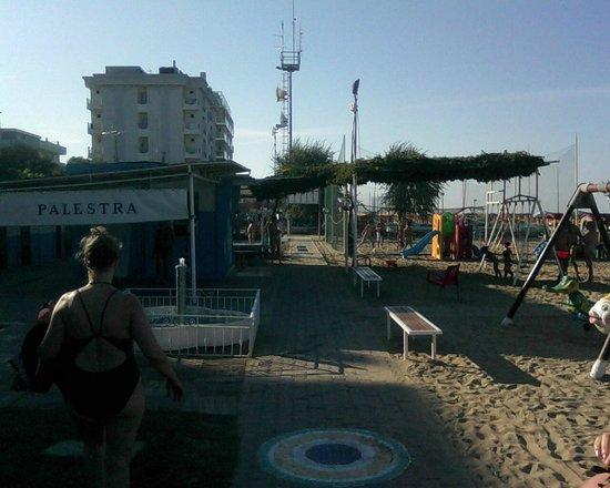 Beach Egisto 38 : Area intrattenimento