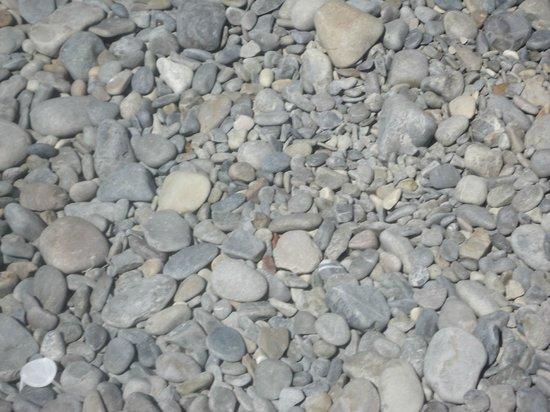 Les Studios Floreal: piedras, playa de piedras!
