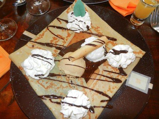 La Caravelle: crêpe dessert