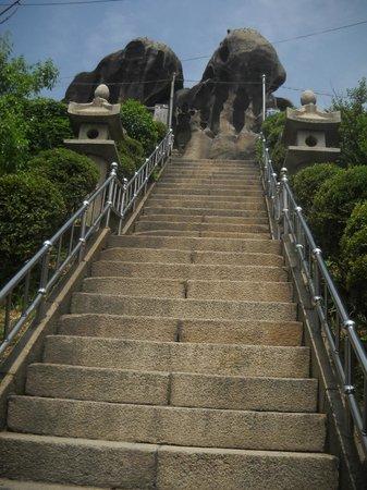 """Inwangsan Mountain: Seonbawi Rock in Korean means """"Zen rocks"""""""
