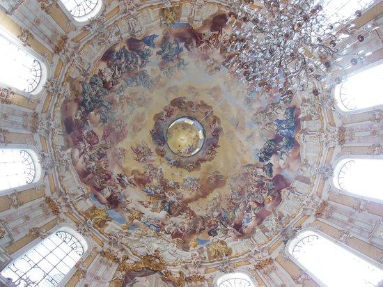 Benediktinerabtei Ettal : The Dome Inside