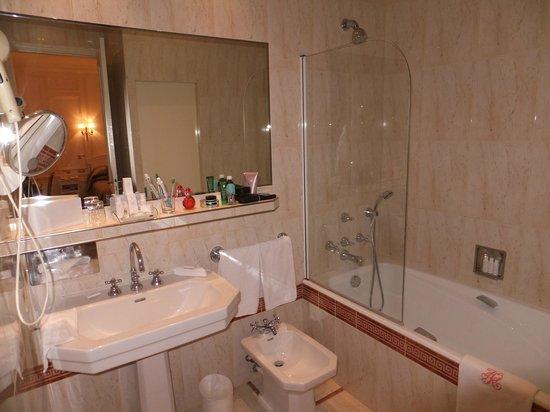 Hotel Raphael: il bagno