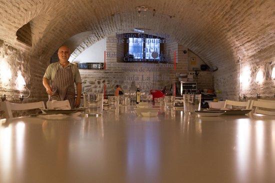 La Oliva: Intimate Dining Room