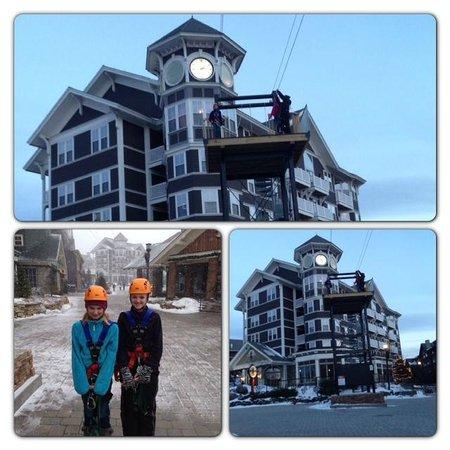 Snowshoe Mountain Resort: Zip Lining