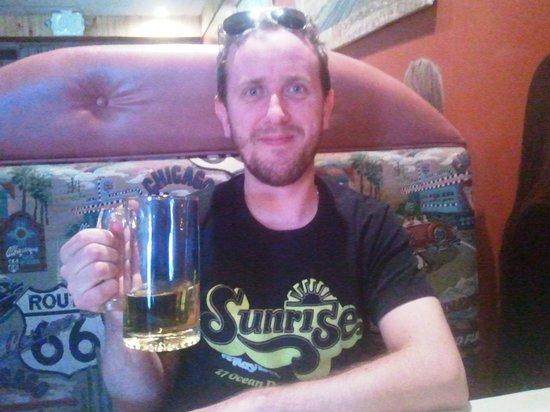 Pow Wow Restaurant & Lounge : My beer!