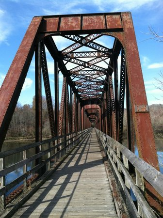 New River Trail State Park : Hiawasse Bridge