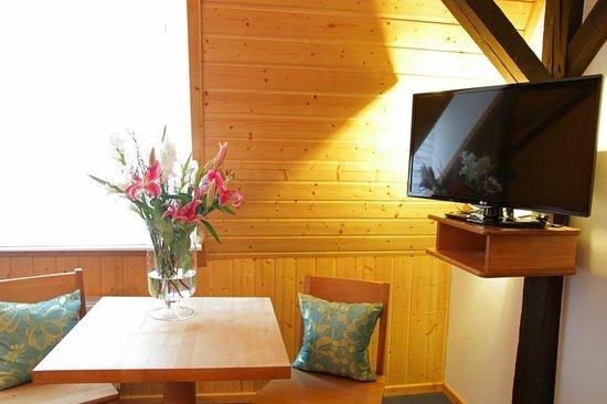 Brauhaus Schillerbad: Neu gestaltete Zimmer mit Flachbild-TV