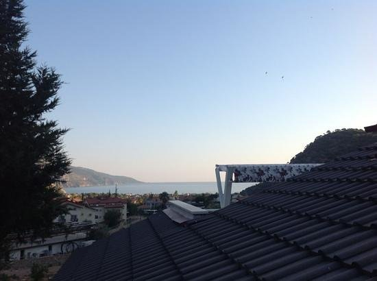 Morina Deluxe Hotel: view from our room