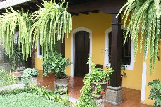 Hotel San Pedro: The door to my room.