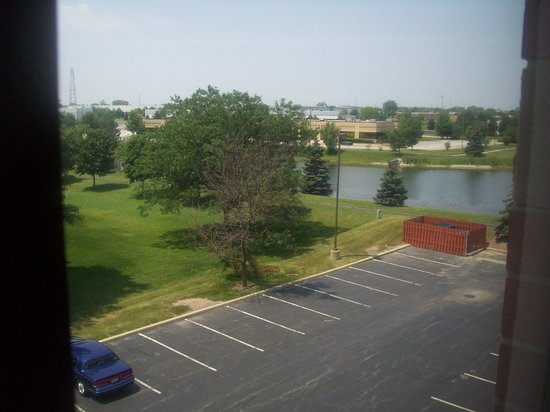 Sleep Inn Tinley Park: view from room