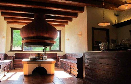 Osteria Sant'Andrea: fogolar