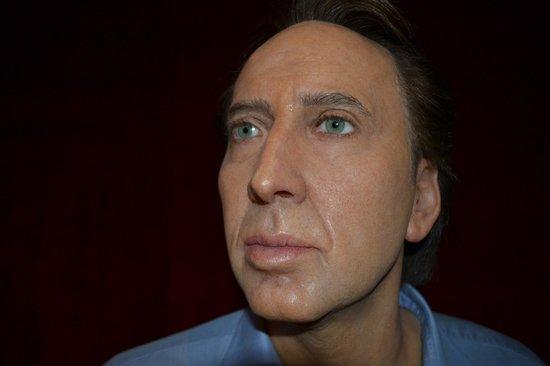 Grevin Museum: Nicolas Cage