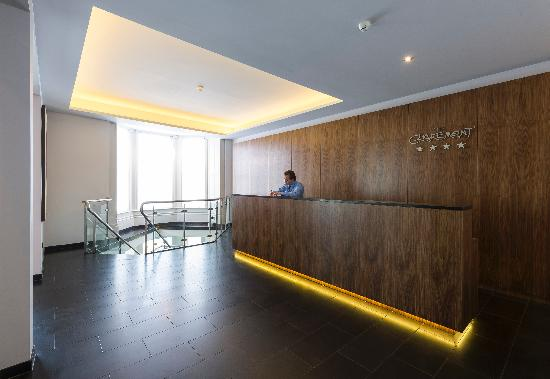 The Claremont Hotel: Reception area following refurbishment in early 2013