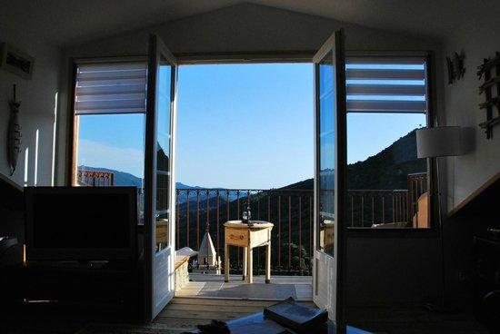 La Villa Guidi: la terrasse