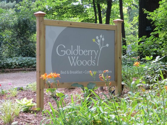 Goldberry Woods Bed & Breakfast Cottages : You receive a wonderful welcome!