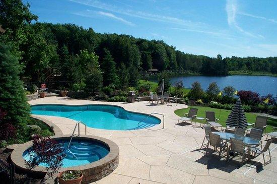 Coy pond picture of biggest loser resort niagara java - Letchworth state park swimming pool ...