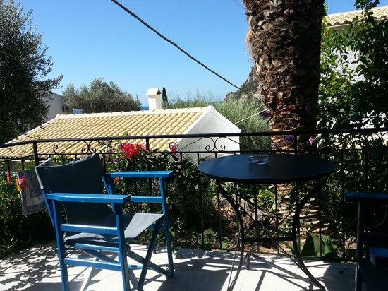 Villa Fiorita: Aussicht vom Balkon