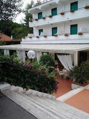 Hotel Marad: veranda