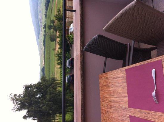 Emmebuckel : View from Restaurant terrace