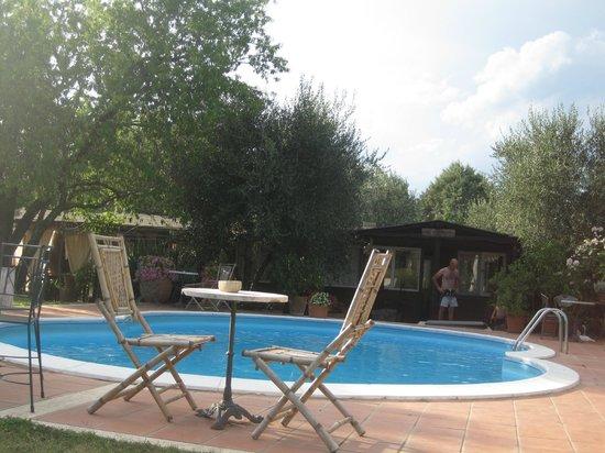 Agriturismo San Giacomo: La piscina e il ristorante