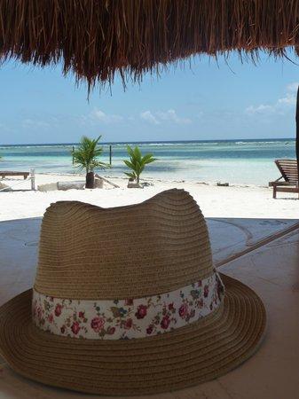 Koox Matan Ka'an Hotel: Spiaggia di fronte all'albergo