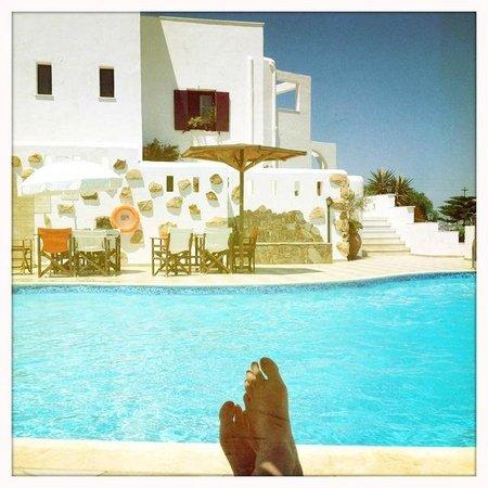 Naxos Kalimera Hotel: le pied...