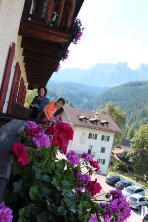 Hotel Stella Stern: Blick vom Balkon