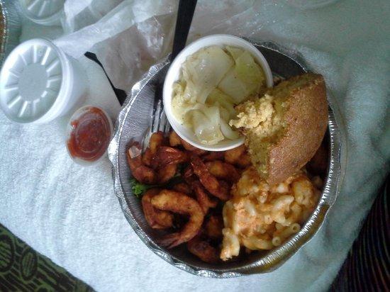 Croaker's Spot Restaurants: fried shrimp