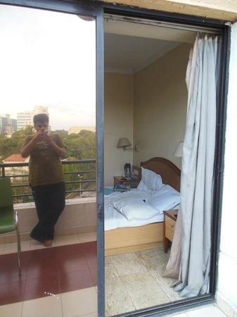 The Samrat Hotel: hotel room