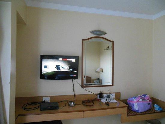 The Samrat Hotel: room