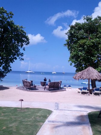 Sandals Negril Beach Resort & Spa: what a view