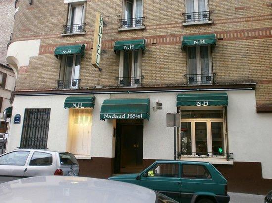 Nadaud Hôtel : Ingresso Hotel