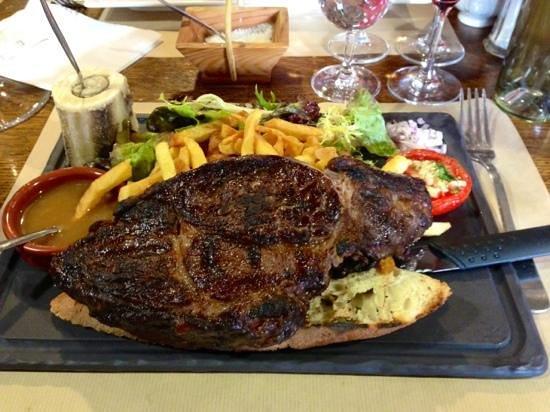 La Taverne de Tasdon : La mythique Entrecote de 400g...