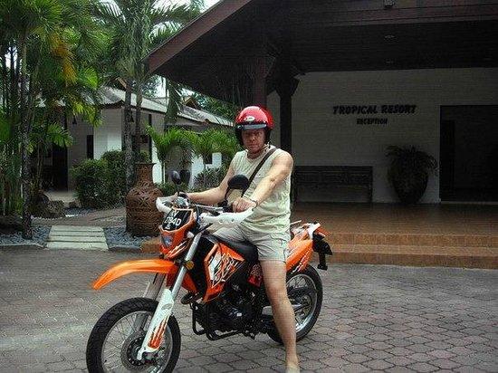 Tropical Resort : Bike hired