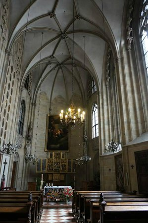 Church of the Teutonic Order: The nave.