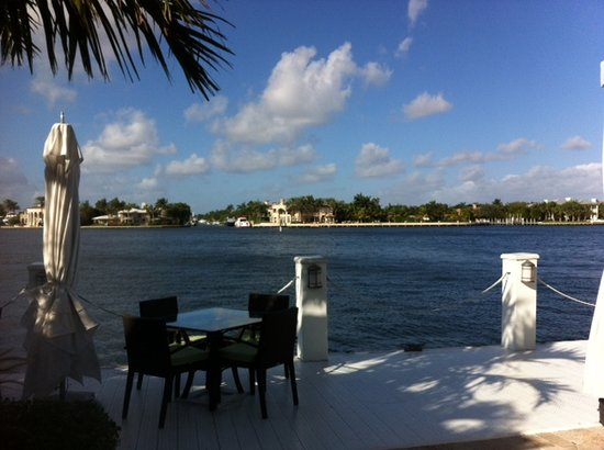 The Pillars Hotel Fort Lauderdale : Waterfront view