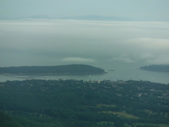 The Looking Glass Restaurant : View from above Bar Harbor