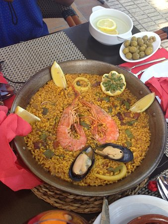 My Tapas: Best paella in majorca and Steven was the best waiter such a lovely guy made us girls feel very