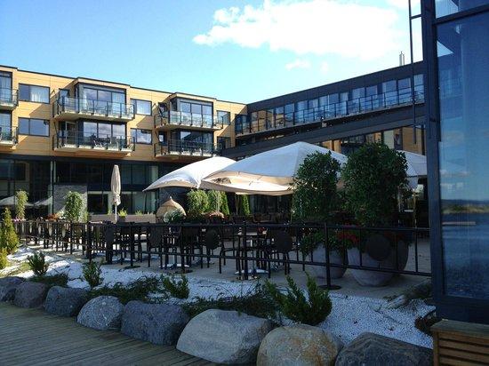 Son Spa: Lunch & bar area