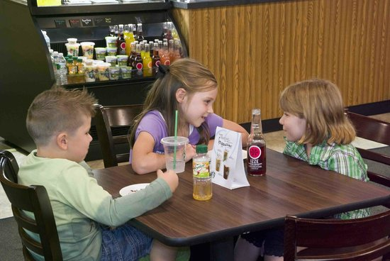 Café 1905: Cafe 1905 is kid-friendly with a special menu just for them!