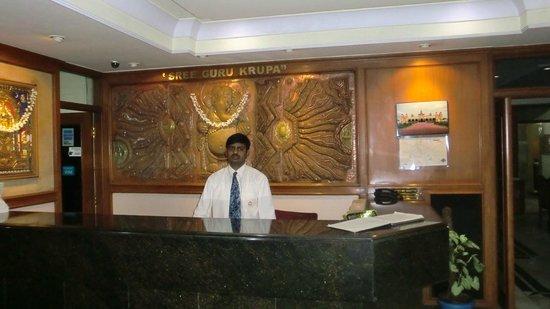 Adarsh Inn: Reception