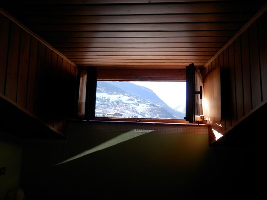 Bormio, Albergo Stella, camera ultimo piano con panorama
